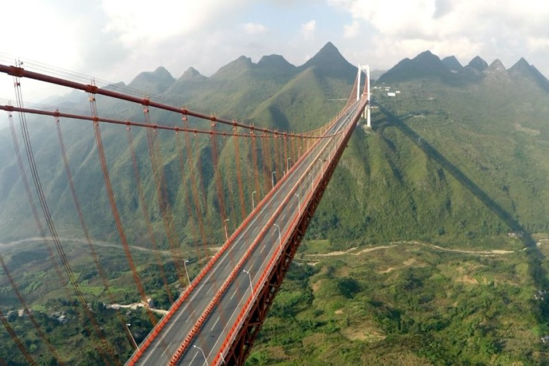 6. Baling River Bridge, China