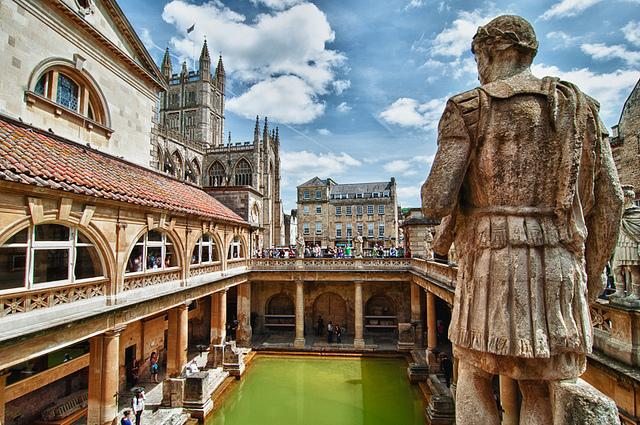 Roman Baths, paradise on Earth