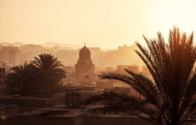 The City of Dead in Egypt