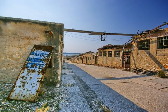 The abandoned Croatian prison called Goli Otok