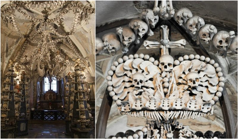 The bone church in Czech Republic