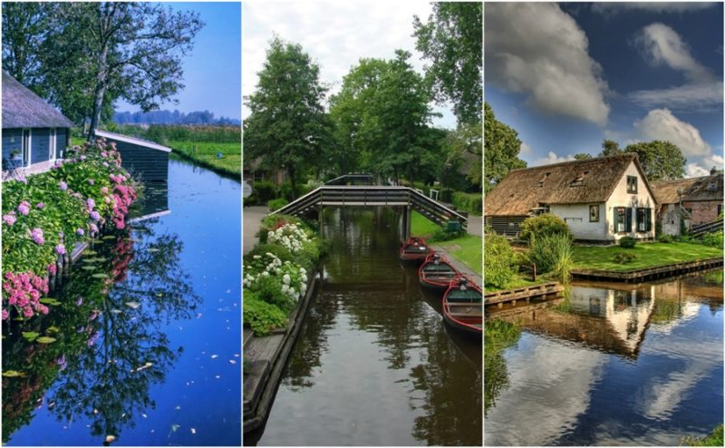 Giethoorn, the small Venice in Holland