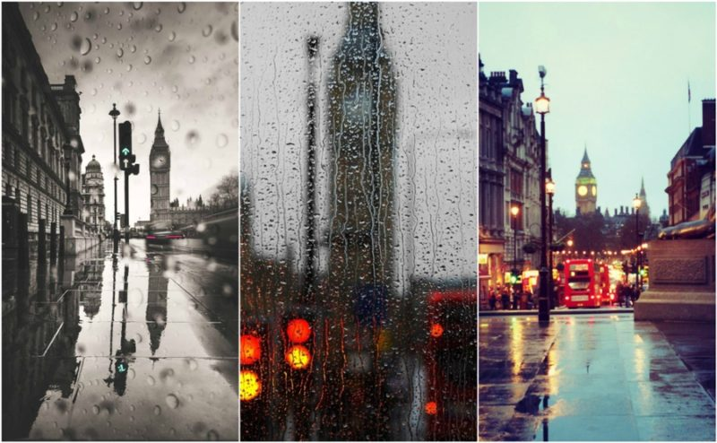 Rainy Days in London