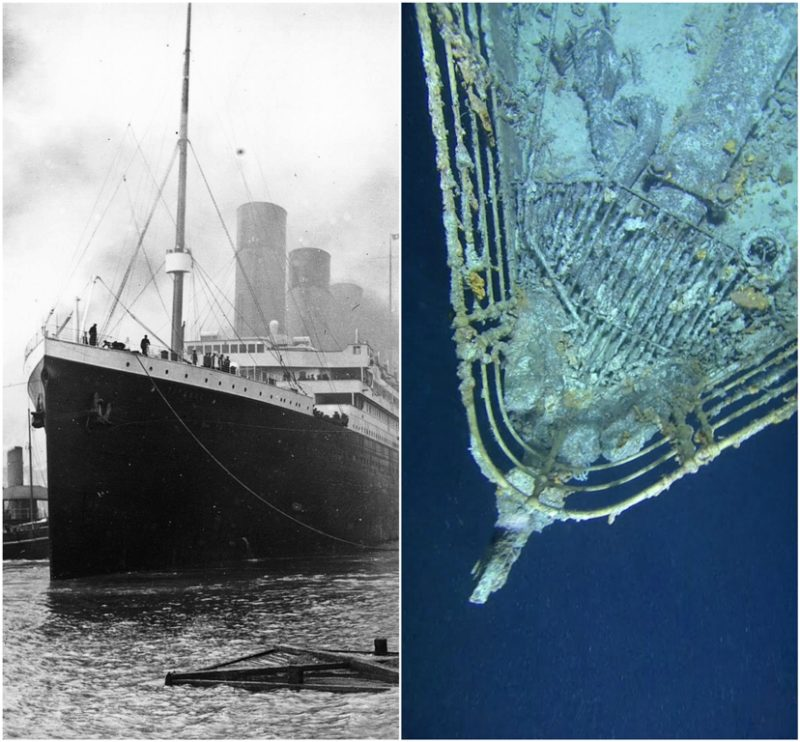 What does the Titanic look like today?